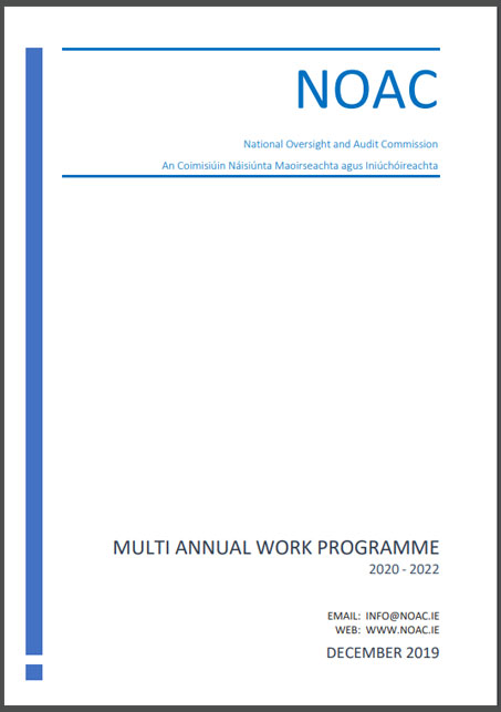National Oversight and Audit Commission Multi annual work programme