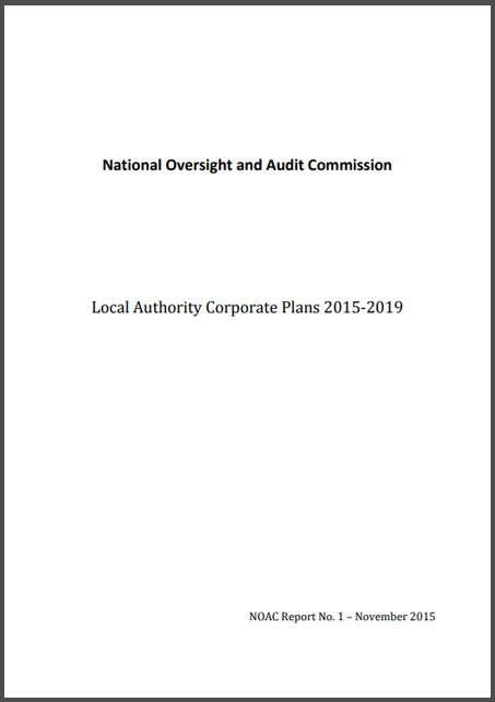 Corporate Plans Report NOAC
