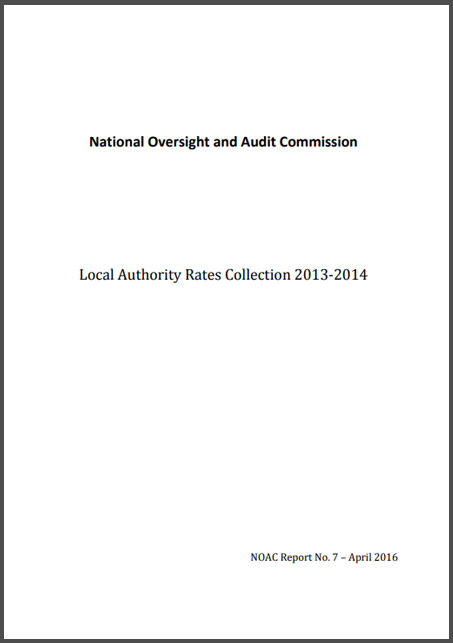 Local Authority Rates Collection 2013 2014