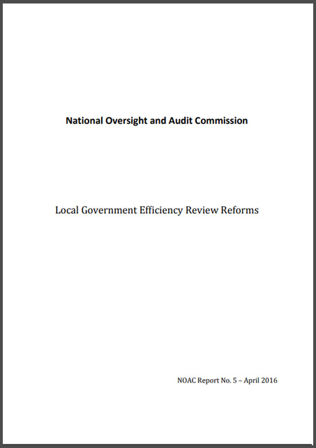 NOAC Local Government Efficiency Review Reforms Report