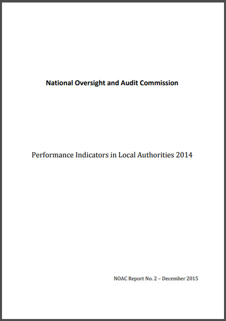 NOAC Local Performance indicator REPORT 2014