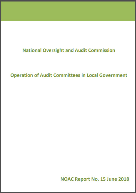 NOAC Operation of Audit Committees in Local Government