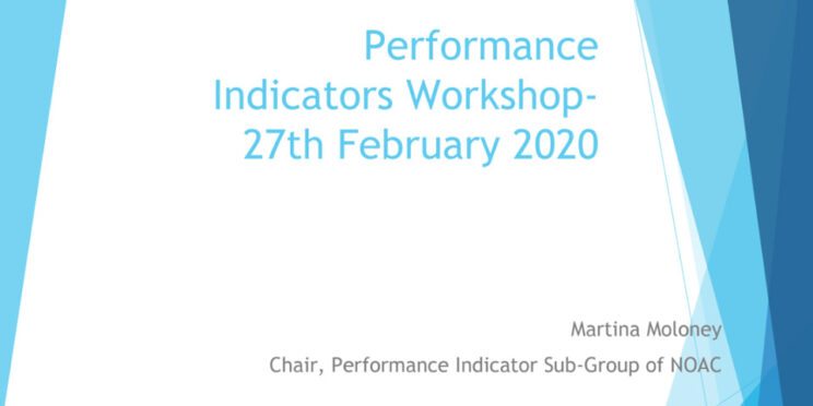 NOAC Performance Indicators Workshop 2019